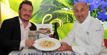 cubetti di gorgonzola su risotto carnaroli (2)